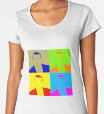 Regis Philbin Andy Warhol Women's Premium T-Shirt