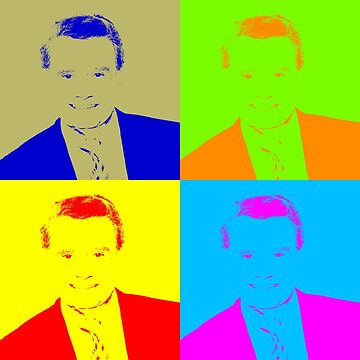 Regis Philbin Andy Warhol by zsbakerstreetb