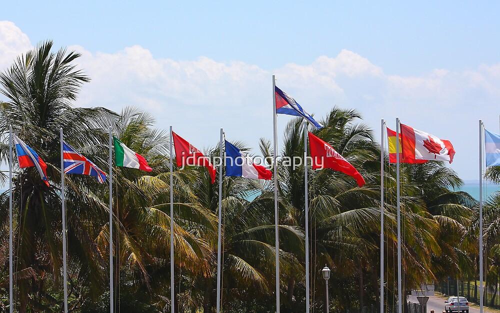 Flag Poles (Cuba) by jdmphotography