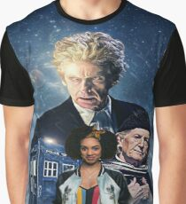 Doctor Who - The Twelfth Doctor and Bill Graphic T-Shirt
