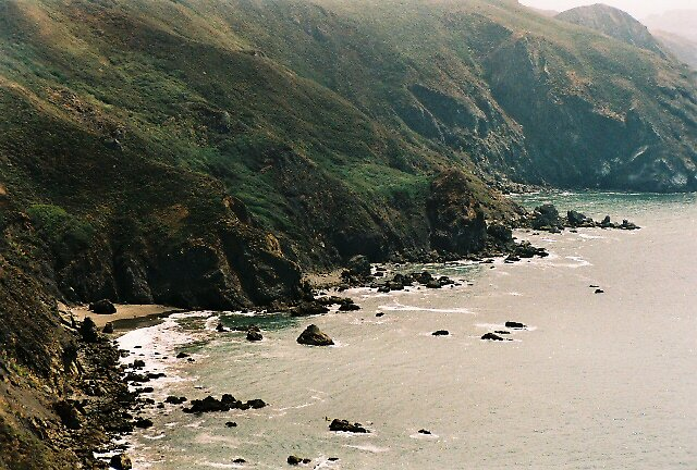 Coastline, Southern Marin County by stephen hewitt