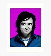 Top Gear Inspired Pop Art, Richard Hammond Art Print