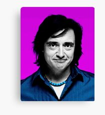 Top Gear Inspired Pop Art, Richard Hammond Canvas Print