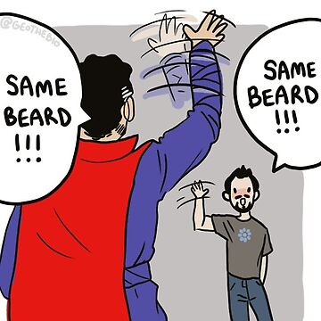 SAME BEARD by geothebio