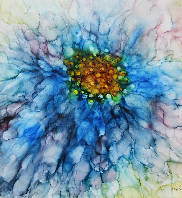 Blue Delight by Louise Adams