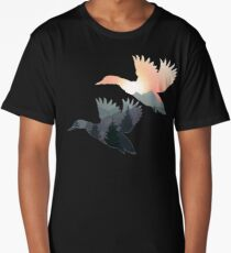Flight of the Geese Long T-Shirt
