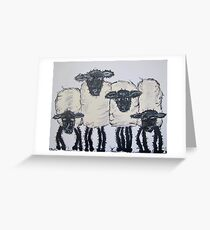 Can't be Flocked! Greeting Card