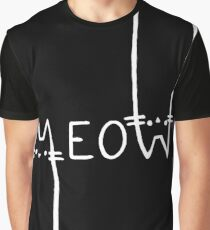 Black and white, meow! Graphic T-Shirt