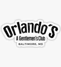 The Wire - Orlando's Gentlemen's Club Sticker