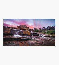 Hovea Falls Photographic Print