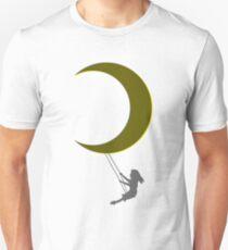 Stay Wild Moonchild, gold, yellow, blue Unisex T-Shirt