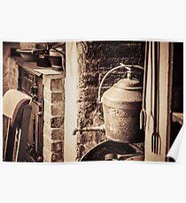 Historic Kitchen Poster