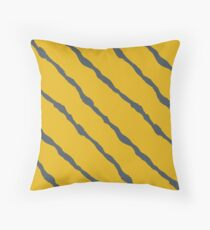 Diagonal lines (request other colours) Throw Pillow