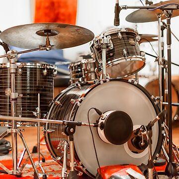Recording Studio - Drum Kit by adamcal