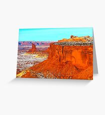 Canyonlands Buttes Greeting Card
