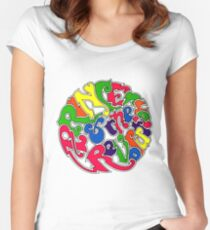 """Around The World In A Day"" Women's Fitted Scoop T-Shirt"