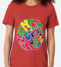 """""""Around The World In A Day"""" Tri-blend T-Shirt"""