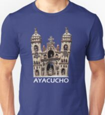 Hand Crafted Ceramic Quinuan Church T-Shirt