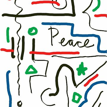 Peace Sketch by Albert