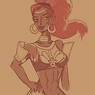 Lady Urbosa by Lucie Irvine
