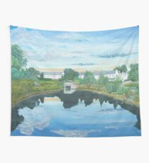 Millpond, rural Ireland Wall Tapestry