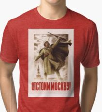 Defend Moscow Tri-blend T-Shirt