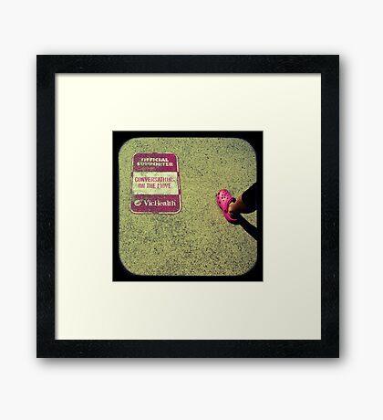 Conversations Framed Print