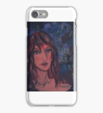 Red Haired Beauty iPhone Case/Skin