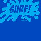 Bubba Loon™—Surf! by Trulyfunky