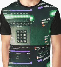 Oberheim Xpander Panels Graphic T-Shirt