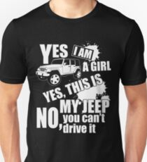 You Cant Drive My Jeep Shirt T-Shirt