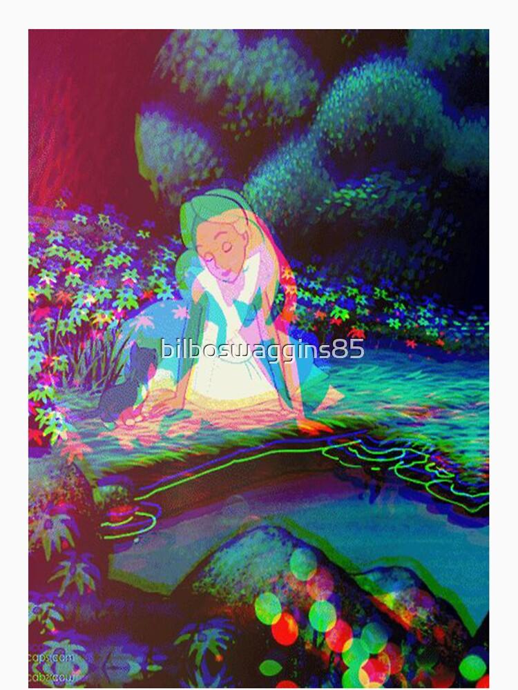 """""""Alice in Wonderland Trippy"""" Unisex T-Shirt by ..."""