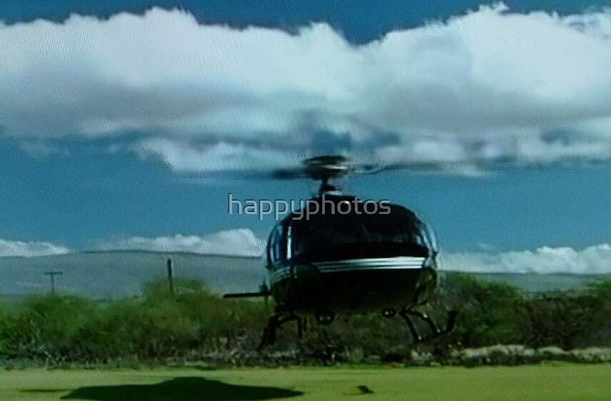 Helicopter in Hawaii by happyphotos