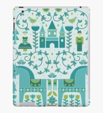 Fairytale illustration in Blue iPad Case/Skin