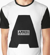 Armin Van Buuren Black Graphic T-Shirt