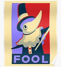 Excalibur FOOL Propaganda Poster