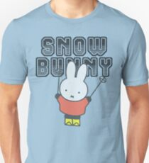 Miffy Snow Bunny Funny Shirt  Unisex T-Shirt