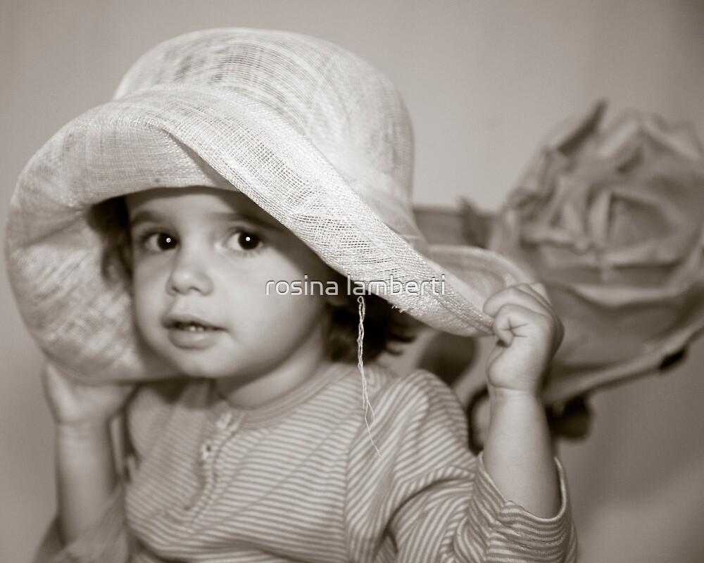 My hat, my hat by Rosina  Lamberti