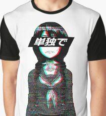 ALONE JAPANESE SAD AESTHETIC  Graphic T-Shirt