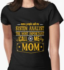 SYSTEM ANALYST BEST COLLECTION 2017 Women's Fitted T-Shirt
