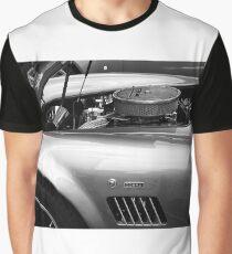 Classic AC Cobra Sports Car Graphic T-Shirt