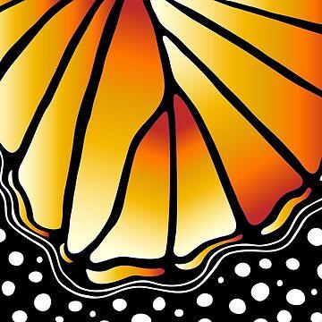 Beautiful Butterfly - Orange by susanchristophe