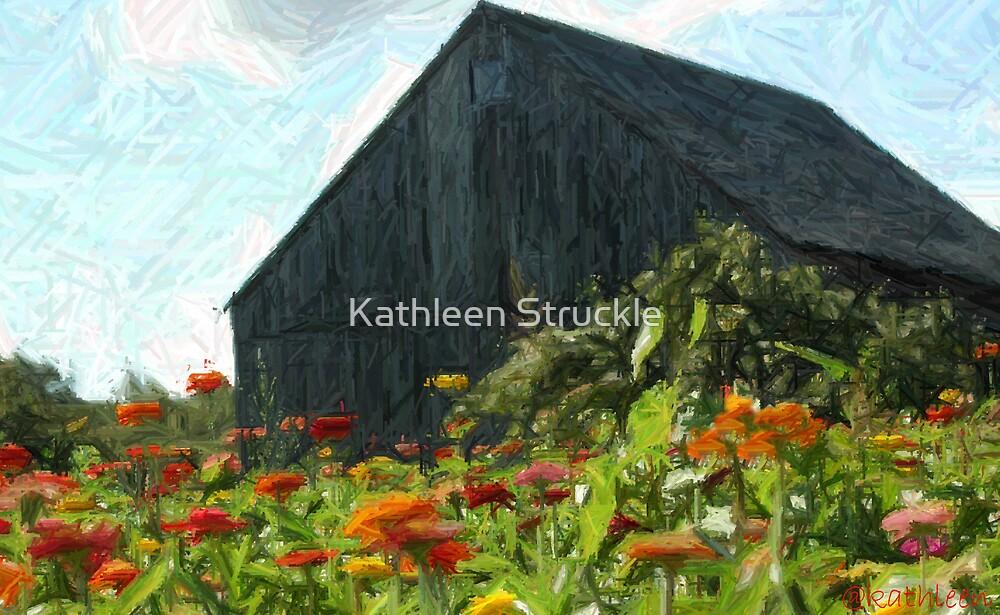 Farm Of Ziennas by Kathleen Struckle