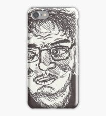Reflections Of An Unfamiliar Face (Self Portrait, 6-1-17) iPhone Case/Skin