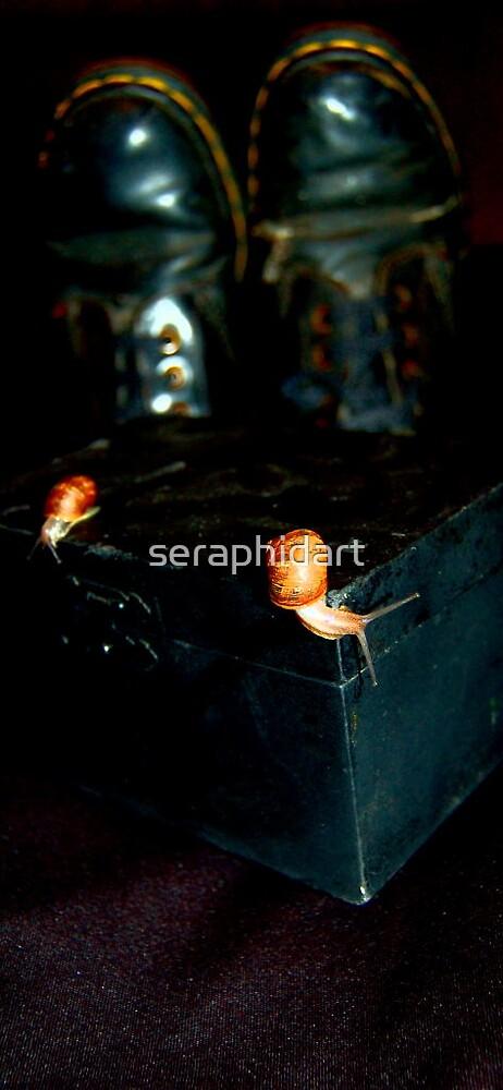 snails three by seraphidart