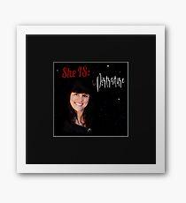 She IS:  Portraiture Framed Print