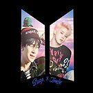 ☆ Neu ☆ BTS Logo Suga x Jimin von Infirez