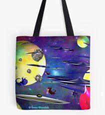 Space Rage Pending Tote Bag