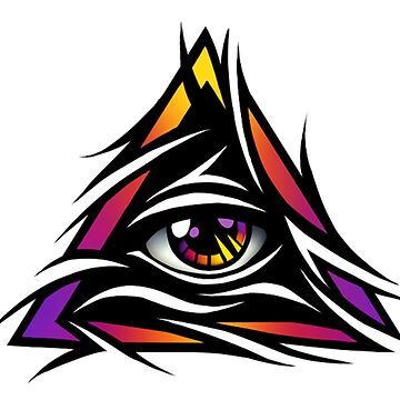 Illuminati Eye by Daanrekers
