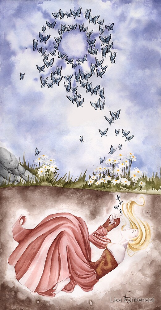 Breathing Butterflies by Lisa Eshkenazi